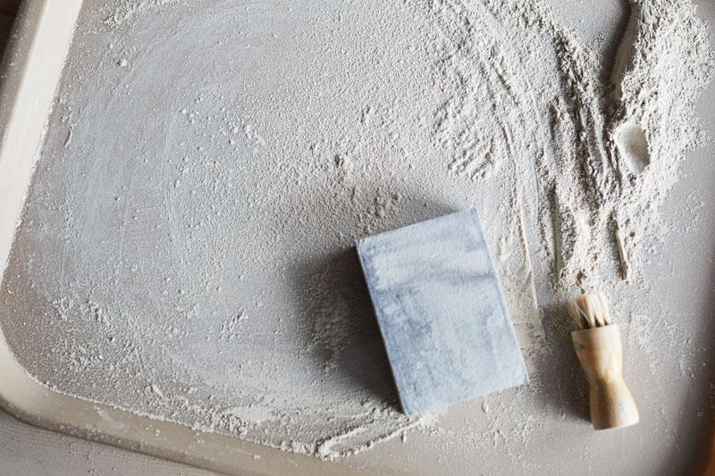 poussière d'argile à recycler