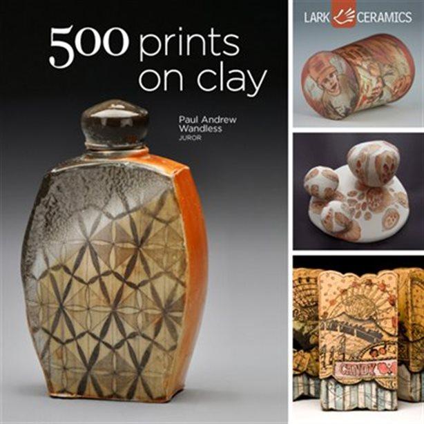500 prints on clay livres de poterie