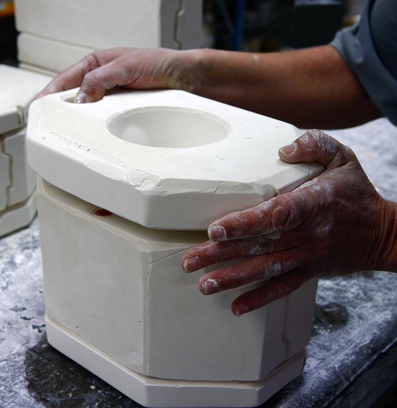 moule en plâtre