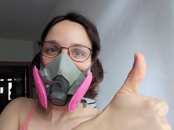 masque céramiste