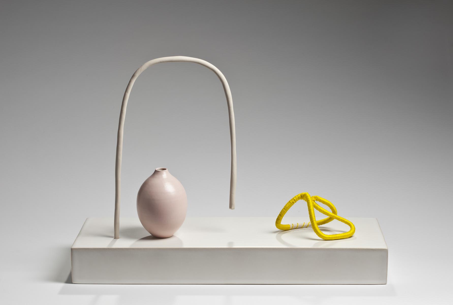 installation de céramique contemporaine