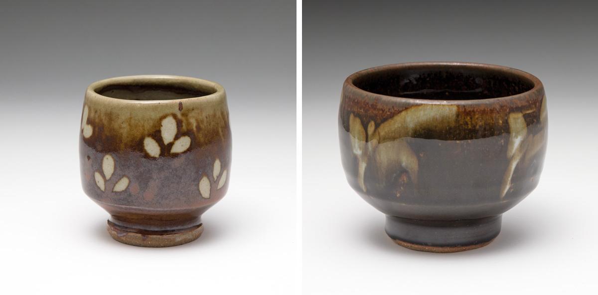 cire poterie création décor fleuri